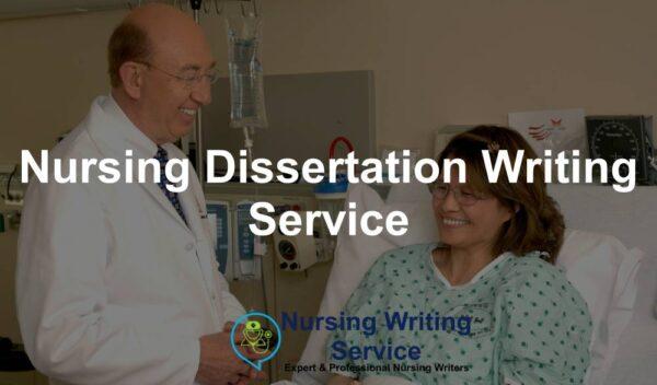 Nursing Dissertation Writing Service